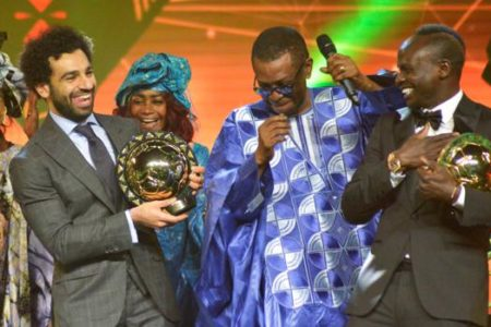 Así celebró Mohamed Salah volver a ser elegido mejor futbolista africano del año
