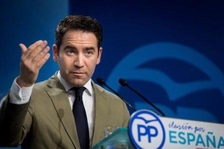 García Egea llamará a Vox, pero advierte de que el cambio de Gobierno es más importante que cambiar «una coma de un documento»