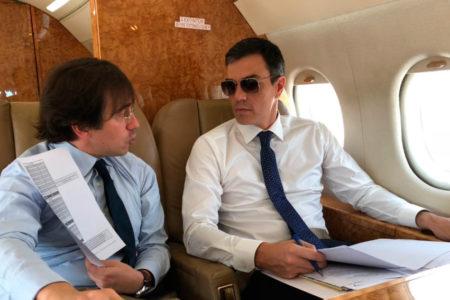 El Gobierno asegura que el viaje de Pedro Sánchez al FIB en el Falcon costó tan solo 282,92 euros, una cifra que expertos en aviación cuestionan