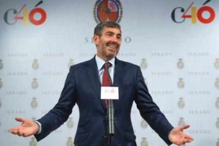 """El presidente de Canarias está """"firmemente en contra"""" de que el archipiélago sea sede de la OTAN"""