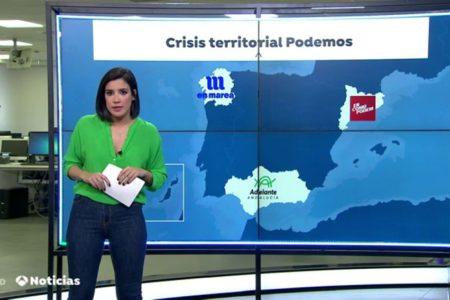 Las siglas de Podemos se desdibujan, sobre todo en las comunidades con más escaños