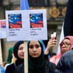 Los uigures en el exilio se movilizan contra Pekín para buscar a sus familiares