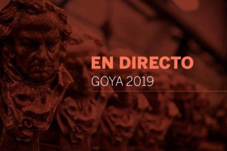 La gala de los Premios Goya 2019, en directo