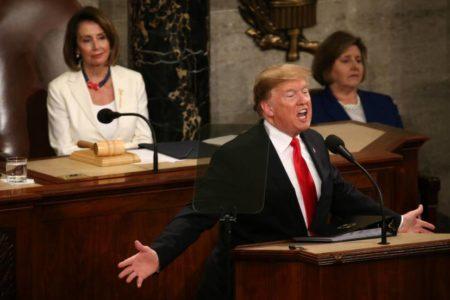 Las 10 frases del discurso del estado de la Unión de Trump
