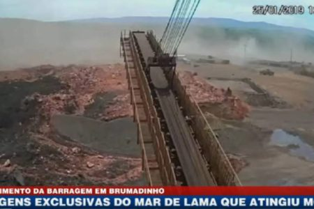 Así se rompió la presa de Vale en Brasil