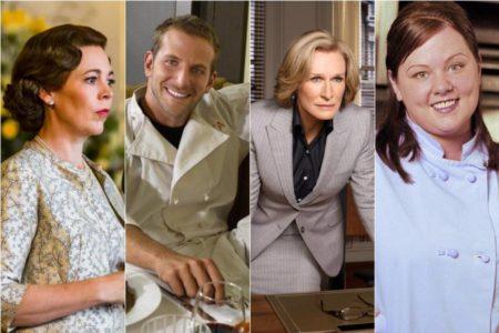 Éxitos y fracasos televisivos de los nominados a los Oscar