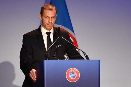 Ceferin, reelegido presidente de la UEFA