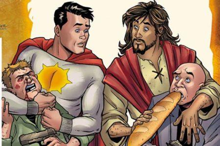 Cancelado el cómic que tenía a Jesucristo como protagonista