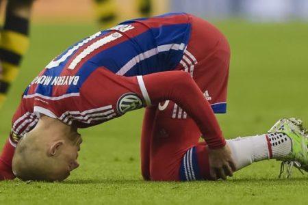 El calvario de Robben a sus 35 años: «Es muy frustrante»