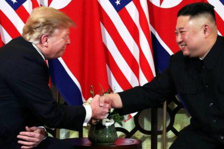 Kim Jong-un y Donald Trump, optimistas en el comienzo de su segunda cumbre