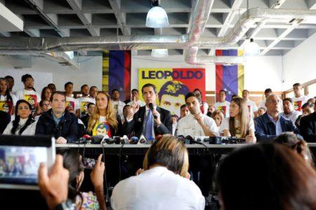 Guaidó busca un acercamiento con el chavismo disidente