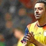 Xavi también se cae de la convocatoria de Cataluña