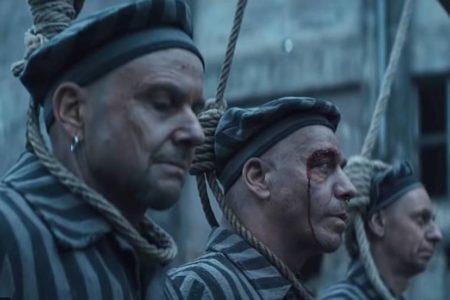 Rammstein desata la polémica con un vídeo de sus miembros vestidos como presos de un campo nazi