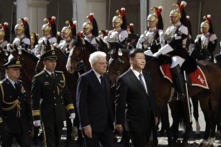 Roma se paraliza con la visita de Xi Jinping