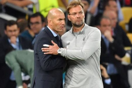 El vestuario se mira ante Zidane, Mourinho y Klopp