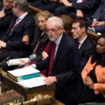 El líder laborista, Jeremy Corbyn, pide la dimisión de May y la convocatoria de elecciones generales
