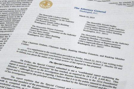 Texto íntegro en español de las conclusiones del fiscal sobre el informe de la trama rusa