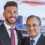 La llamada que puso paz entre Florentino Pérez y Sergio Ramos
