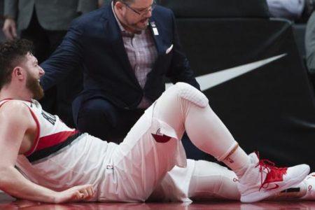 La espantosa lesión de Jusuf Nurkic que ha conmocionado a la NBA