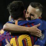 Los «recados» de Jordi Alba tras el pase del Barça