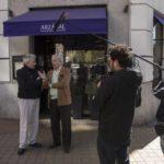Vargas Llosa visita los lugares de su vida