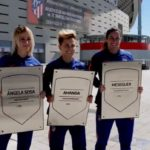 Amanda, Meseguer y Sosa ya tienen su placa en el Metropolitano