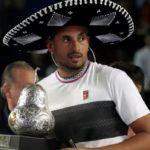 Kyrgios gana a Zverev y se proclama campeón en Acapulco