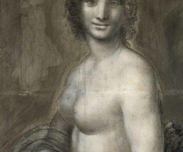 Hallados rastros del zurdo Leonardo da Vinci en 'La Gioconda' desnuda