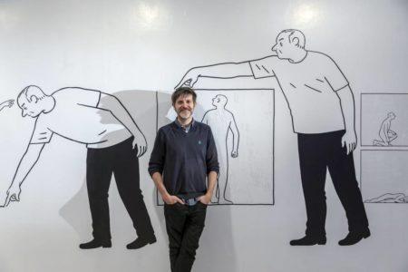 Paco Roca revienta la viñeta y dibuja un nuevo museo