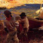La familia Sorolla pleitea con Cultura para exportar un cuadro del pintor