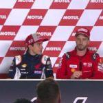 Márquez: «Honda trata de entender la pieza de Ducati»