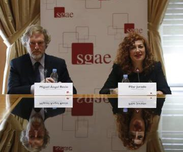 "La presidenta de la SGAE: ""No nos hemos muerto"""