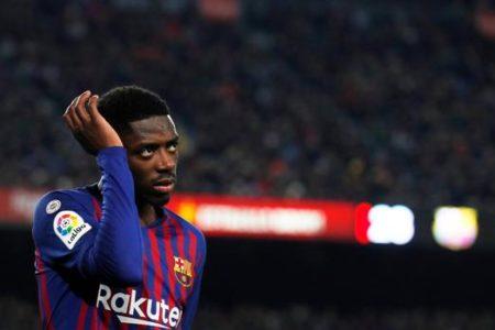 Dembélé no forzará ante el Atlético