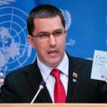 Estados Unidos incluye al canciller venezolano Jorge Arreaza en su lista negra