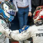 Hamilton trata de amedrentar a Bottas