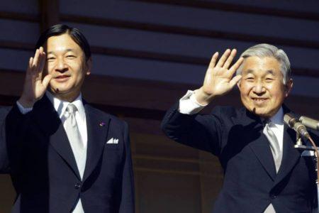 Todo listo para la abdicación del emperador en Japón