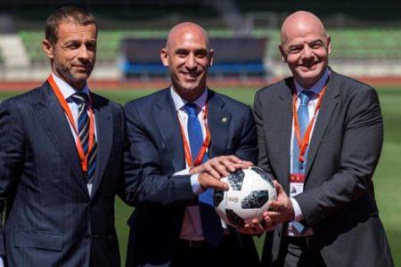 La UEFA estudia agrupar todos los partidos de selección