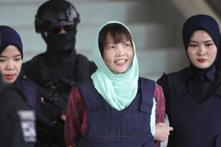 Condenada a tres años de prisión la vietnamita acusada de matar al hermano de Kim Jong-un