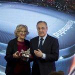 Un Bernabéu de acero, futurista e interactivo
