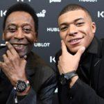 Pelé, hospitalizado en París tras su encuentro con Mbappé