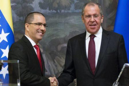 """Rusia exige a EE UU que deje su """"campaña sin precedentes"""" contra Maduro"""