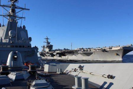 España retira la fragata 'Méndez Núñez' del grupo de combate de EE UU en el golfo Pérsico