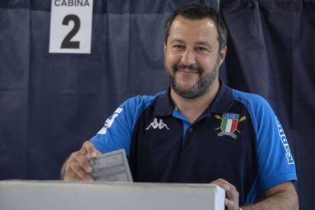 Salvini se impone con rotundidad en las elecciones europeas