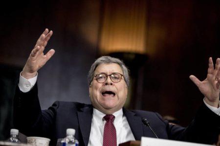 El fiscal general defiende ante el Senado que Trump no cometió obstrucción a la justicia