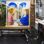 La partícula de oro que devolvió la luz a 'La Anunciación' de Fra Angelico