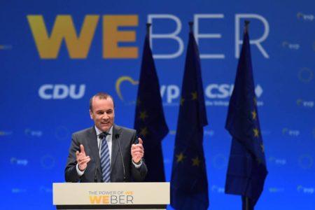 Manfred Weber, el halcón sin garras