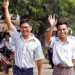 Myanmar libera a dos periodistas de Reuters tras 500 días en prisión
