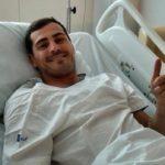 El mensaje de Casillas desde el hospital: «Todo controlado por aquí»