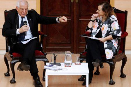 Europa busca su sitio en el debate político español