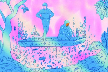 Olivier Schrauwen, un visionario del cómic con una impresora bicolor